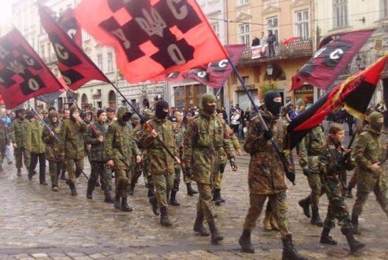 Украинские радикалы против Минских мирных соглашений