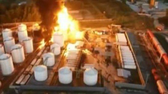 Пожар под Киевом начался снова
