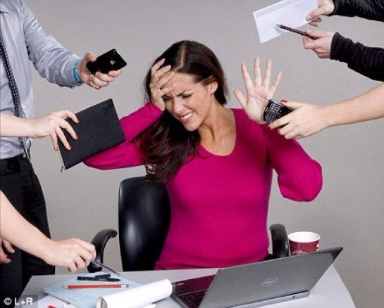 Женщины стареют от стресса