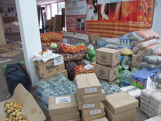 На Донбасс прибыла очередная гуманитарная помощь