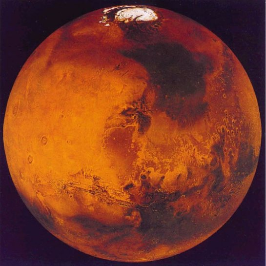 Планета Марс никогда не была теплой