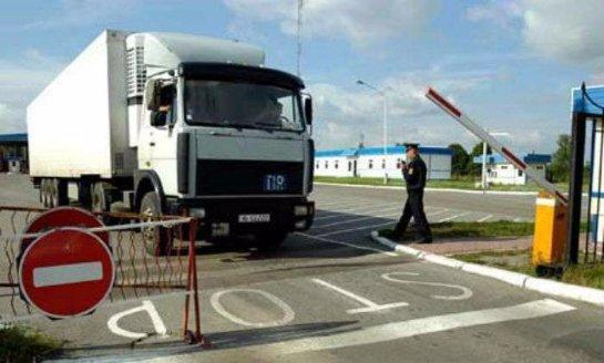 Киев восстановил пропуск машин с продуктами в Крым