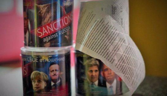Рекламщики использовали идею санкций в производстве туалетной бумаги