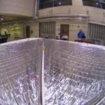 Спутник на солнечных парусах сделал первое селфи
