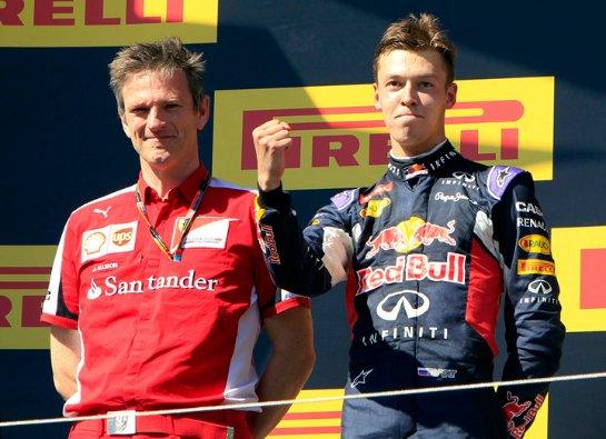 Даниил Квят занял второе место на Гран-При Венгрии