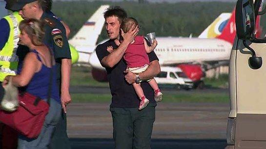 Тяжелобольные донбасские дети были доставлены в Москву для дальнейшего лечения