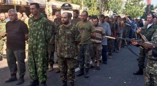 Сегодня произошел обмен пленными между ополченцами Донбасса и украинской стороной