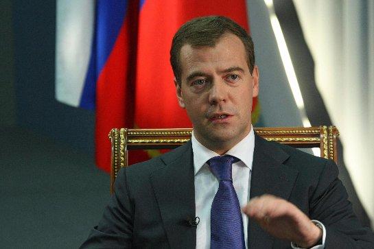 Медведев заявил, что Россия имеет перед собой цели территориальной целостности Украины