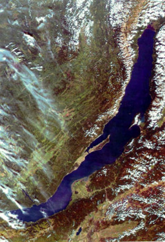 Космонавты рассказали о том, как выглядит Россия из космоса