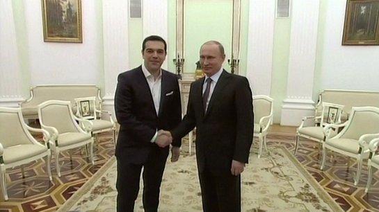 Президенты России и Греции проведут телефонные переговоры