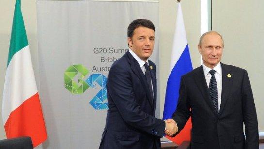 Владимир Путин созвонился с премьер-министром Италии
