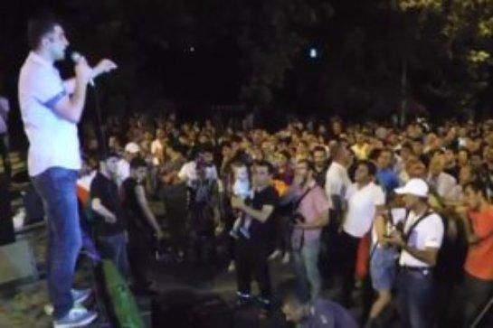 Протестующие в Армении озвучили список требований