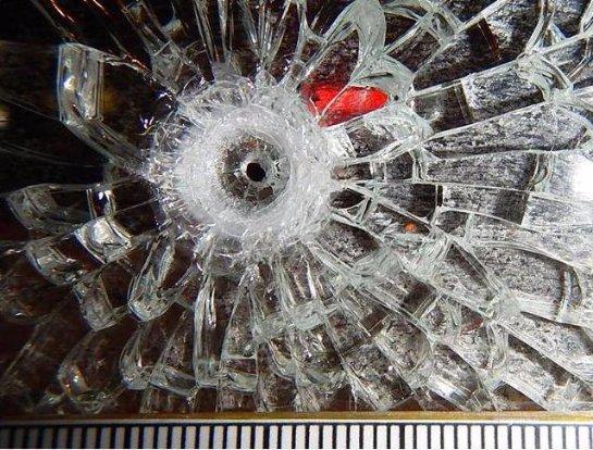 В Москве была обстреляна остановка общественного транспорта