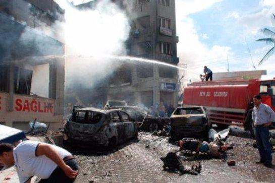 Террорист-смертник устроил взрыв в турецком кафе