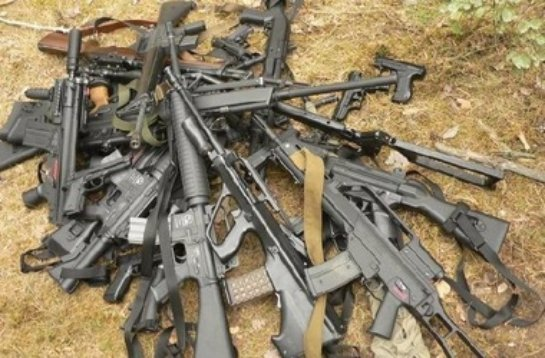 В Смоленске задержали партию незаконного оружия