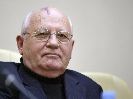 Горбачев доказал, что здоров - он появился на публике