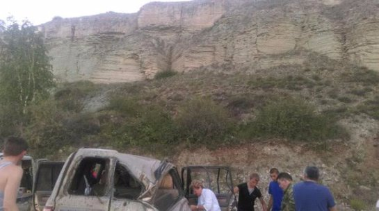 Российские туристы попали в Аварию в Абхазии