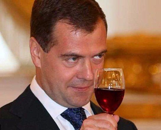 Дмитрий Медведев планирует поддержать российских виноделов
