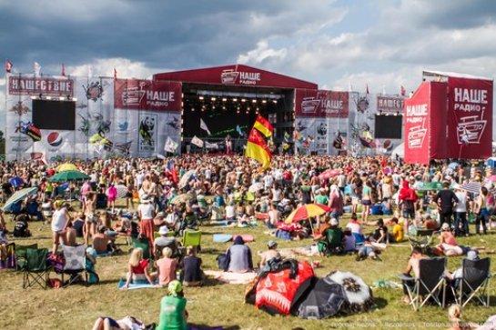 На рок-фестивале «Нашествие» от солнечного удара пострадало около 1000 человек