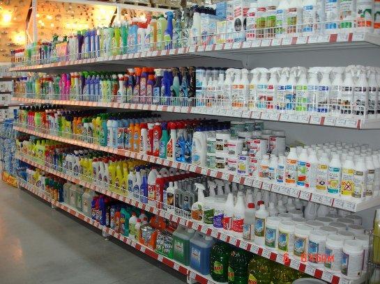 Открыть магазин по продаже бытовой химии
