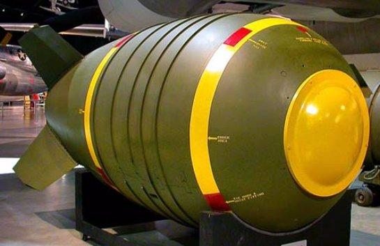 США разработали новую ядерную бомбу и проводят ее испытания
