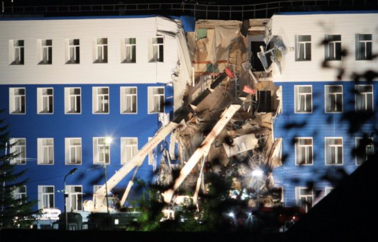 Снова обвал здания: на этот раз в Омске