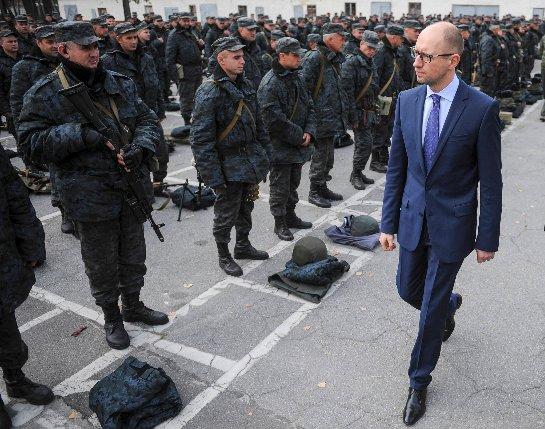 Украинский премьер-министр хочет, чтобы украинская армия соответствовала стандартам НАТО