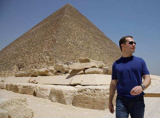 Премьер-министр Российской Федерации прорекламировал Египет