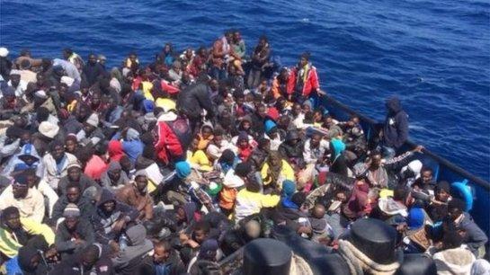 В Средиземном море нашли погибших мигрантов