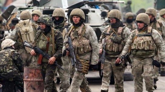 Восемь тысяч украинских военных перешли на сторону донбасских ополченцев