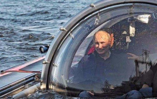 Владимир Путин побывал на дне Черного моря и поделился впечатлениями