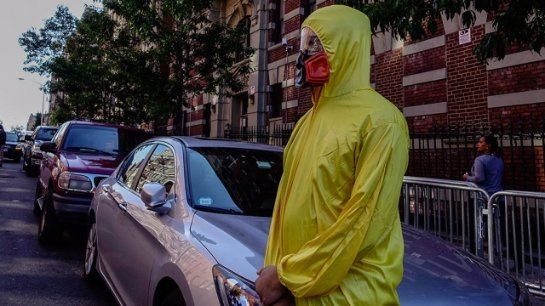 В Нью-Йорке обнаружили пациента с симптомами, которые напоминают вирус Эбола