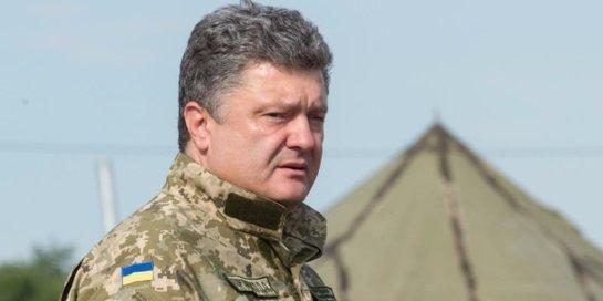 Порошенко признал, что Минские соглашения использовались как маневр для укрепления военной мощи страны