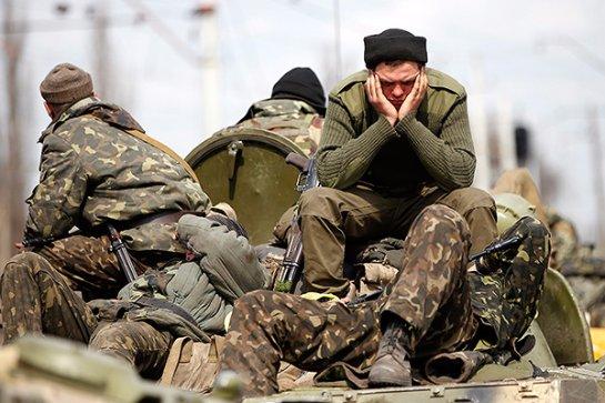 Украинские солдаты пригрозили Порошенку