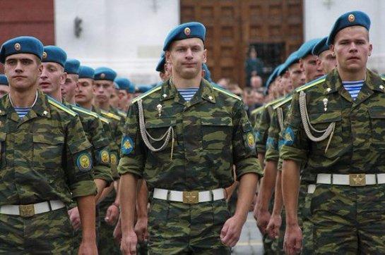 Президент Российской Федерации поздравил военнослужащих и ветеранов ВДВ