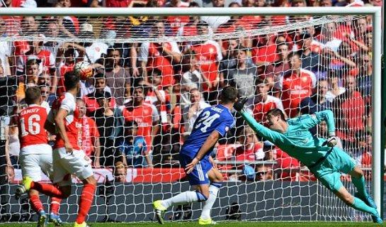 Вчера был разыгран Суперкубок Англии