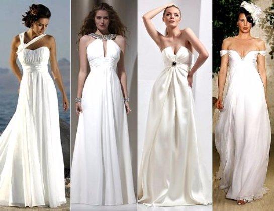 Будь совершенством или стили свадебных платьев