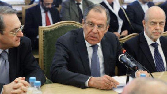 В Москве запланирована встреча главы МИДа РФ и сирийской оппозиции