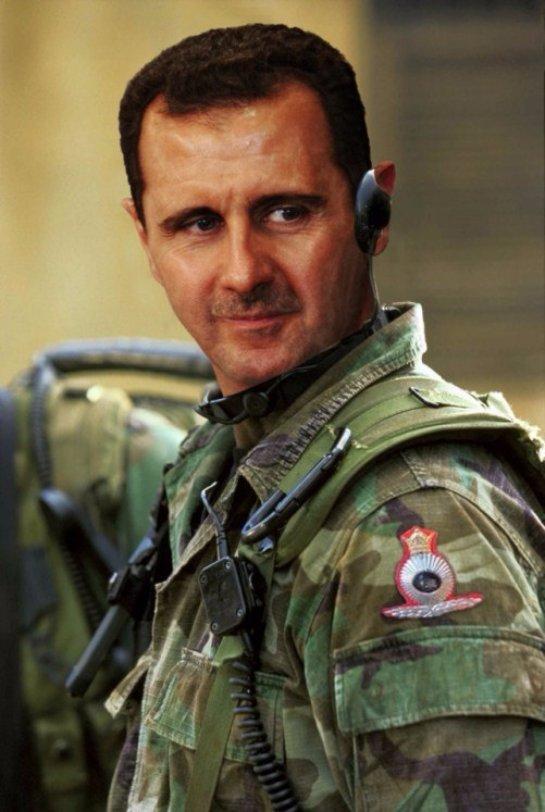 Башар Асад просит военной помощи у Российской Федерации