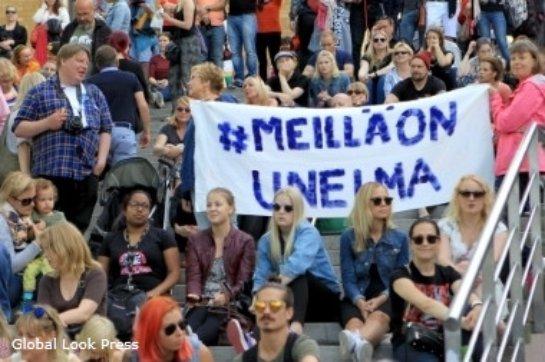 Финляндские профсоюзы устроили масштабную забастовку