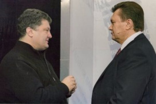 Оказывается до майдана у Порошенка и Януковича были хорошие отношения