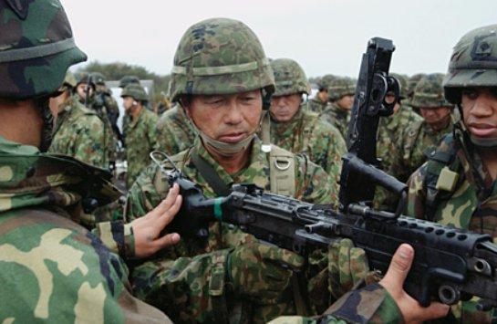 Японская армия сможет воевать за пределами страны