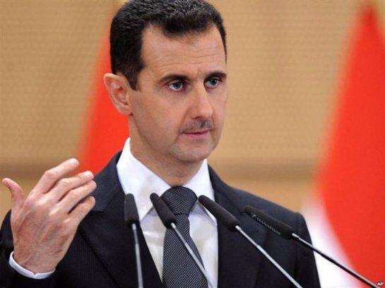 Башар Асад обвиняет Европу в поддержке террористов