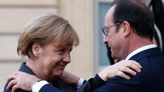 Олланд и Меркель решили, что им делать с нелегальными мигрантами