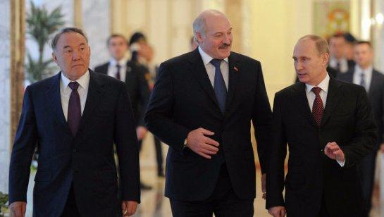 Путин, Лукашенко и Назарбаев съехались в Сочи