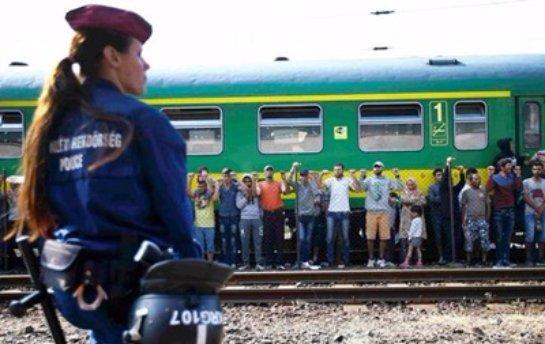 Автобусы с беженцами прибыли из Венгрии в Австрию