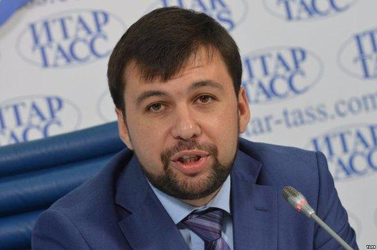 Пушилин заявил, что Киев продолжает экономическую блокаду Донбасса, хоть это и противоречит  минским договоренностям