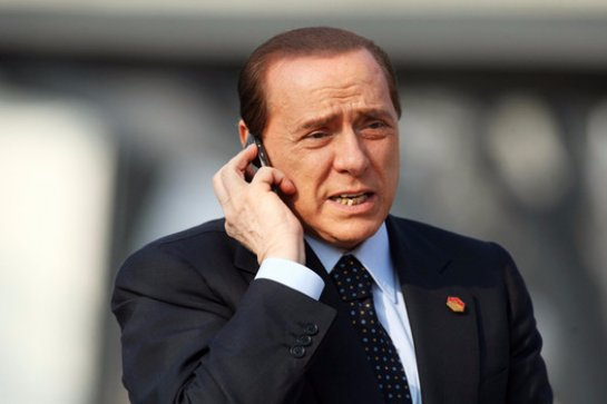 Крым встречает Берлускони