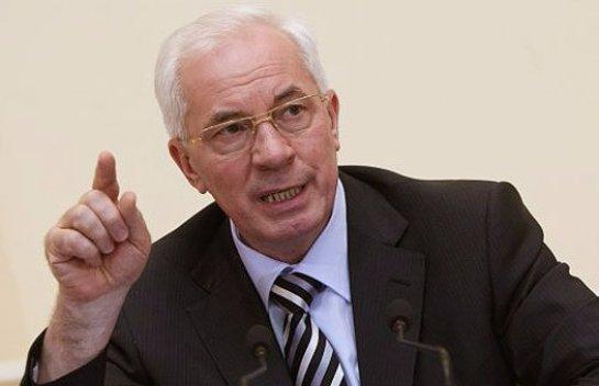 Николай Азаров не видит Саакашвили премьер-министром Украины