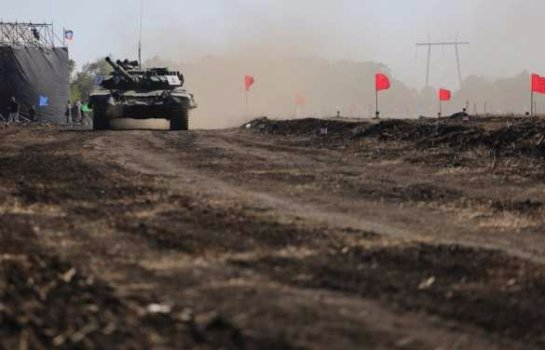 В ДНР был организован теракт во время танковых состязаний